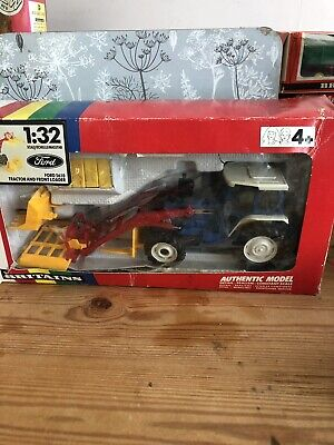 Rare Britains Ford 5610 Tractor & Front Loader • 13.50£