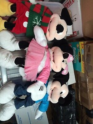 Disney Store Mickey And Minnie Mouse • 6£