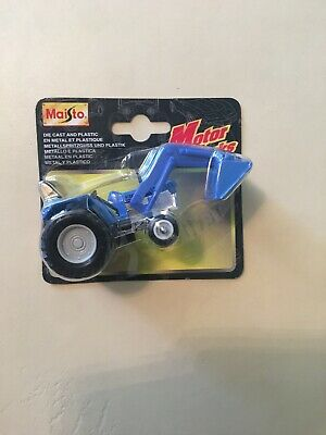 Maisto #15099 Blue Ford Tractor & Bucket  • 10£