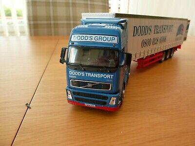 Cararama Dodds Curtainsider Truck And Trailer 1/50 Scale • 15£