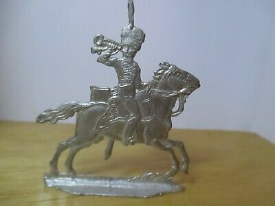 Vintage Set (1) Of Napoleonic Flat Lead Soldiers 'french Chasseurs A Cheval '  • 11.99£