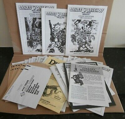 Games Workshop Mail Order Joblot 1990's • 5£