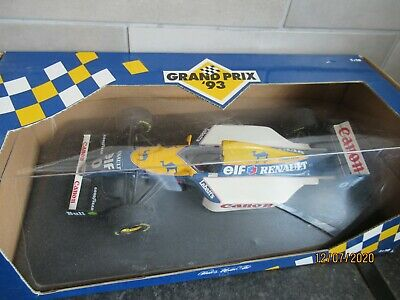 1:18 Williams Renault Fw 15 1993 Minichamps Damon Hill • 65£