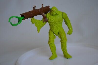 """Kenner DC Swamp Thing """"Snap Up"""" With Log Bazooka And Projectile 1990 • 5£"""