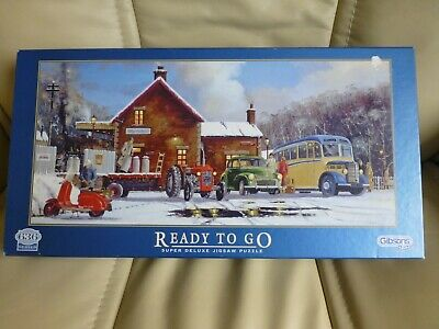 Gibsons 636 Piece Jigsaw Puzzle - READY TO GO • 3.50£