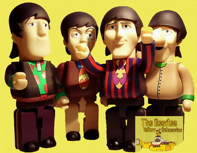 KUBRICK 400% Size The Beatles  Yellow Submarine  Action Figure 4-Pack • 63£