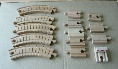 Collection Of Track  Train Track Railway  Toy - ELC Brio Bigjigs Compatible • 5£