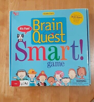 Brain Quest Game University Games, It's Ok To Be Smart Grades 1-6 Learning! • 7.99£