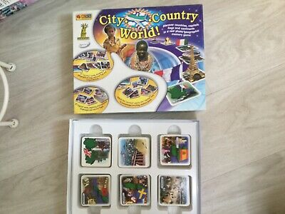 City Country World  Memory Game! • 3.50£