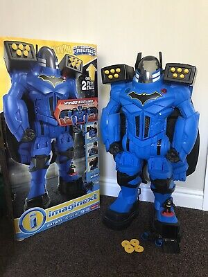 Imaginext Batbot Xtreme With Lights & Sounds, Voice Changer, Over 2 Ft Tall • 34£
