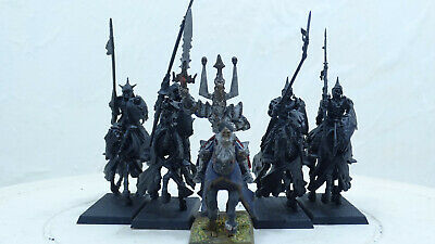 Black Knights With ,vintage Metal, Wight Lord. Warhammer AOS / Fantasy (PK173) • 15.99£