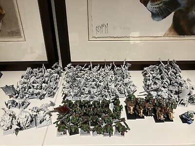 Orcs & Goblins Army - Warhammer Fantasy  - Part Painted OOP • 199£