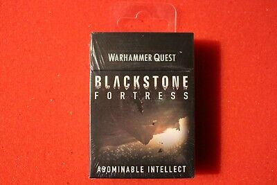 Games Workshop Warhammer Quest Abominable Intellect Blackstone Fortress Cards GW • 99.99£