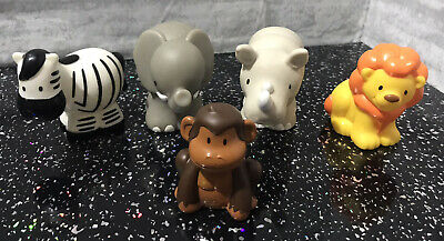 ELC Happyland 🦁🐵 Zoo Animal Figures • 6£