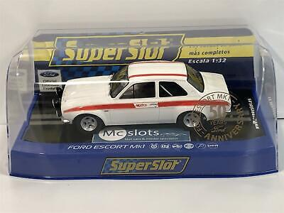 Scalextric Superslot C3934 H3934 Ford Escort MKI 50th Anniversary Boxed • 44.99£