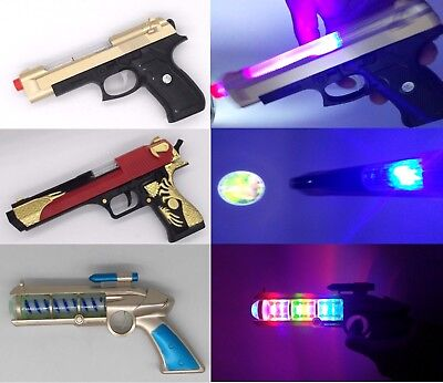 Gold-Eagle Pistol Toy Gun With Light ,Sound & Vibration Effects For Kids - GN En • 6.29£