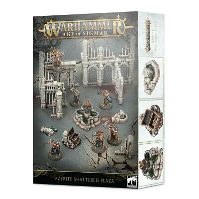 Azyrite Shattered Plaza: Age Of Sigmar Scenery • 44£