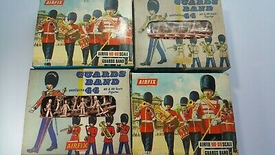 Airfix HO/OO 1/72 Vintage Guards Band X 2 & Red Stripe X 2 • 25.99£