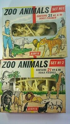 Vintage Airfix Zoo Animals Set No.1 And 2  • 16£