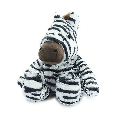 Warmies Cozy Plush Fully Microwavable ZEBRA Lavender Scented Heatable Toy • 16.95£