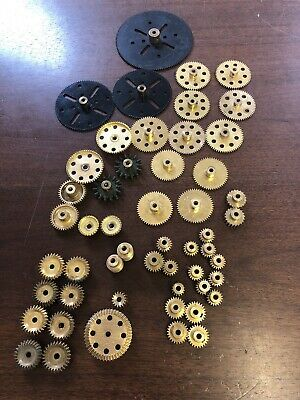 Vintage Meccano Complete Set Of Gears For 10 Set • 225£