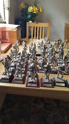 Pewter Soldiers Any 5  Different Regiments  • 10£
