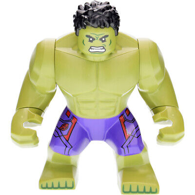 Marvel Super Heroes Incredible Green Hero Hulk Toy Action Mini Figure Avengers   • 6.99£