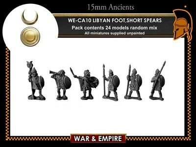 15mm Ancients Libyan Foot Short Spears • 10£