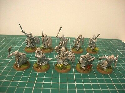 Painted 28mm Warhammer LOTR Warriors Of The Dead Miniatures • 30£