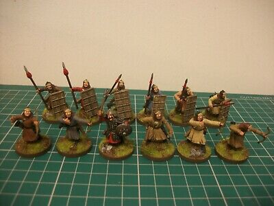 Painted 28mm Fireforge Mongol Korean Auxiliary Foot Miniatures • 30£