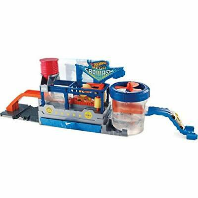 Hot Wheels FTB66 City Mega Car Wash Connectable Play Set With Diecast & Mini Car • 42.99£