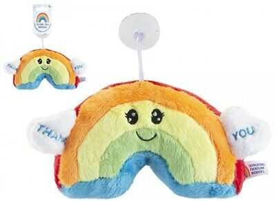 Thank You NHS Rainbow Plush Toy For Window Car Home 9  - 20cm • 3.99£
