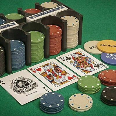 Tobar 21974 Casino Games - Chips, Cards And Mat Included  • 10£