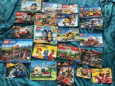 Lego Instruction Manual Bundle • 4.99£