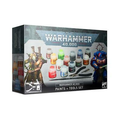 Warhammer 40,000 Paints + Tools • 26£