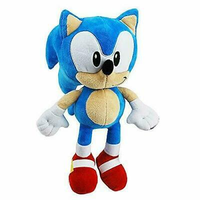 Official SONIC THE HEDGEHOG 12  Sega Sonic Soft Plush Toy Teddy New With Tags • 14.99£