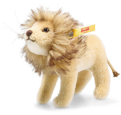 Steiff Lion In National Geographic Gift Box - Mohair Collectable - 026669 • 74.99£
