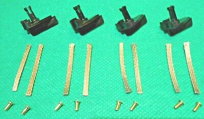 Genuine Scalextric LONG STEM Guide Blades Pickups & New Braids 70s 80s 90s Cars • 3.99£