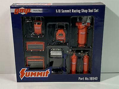 Summit Racing Shop Set 1:18 Scale GMP 18940 • 39.99£