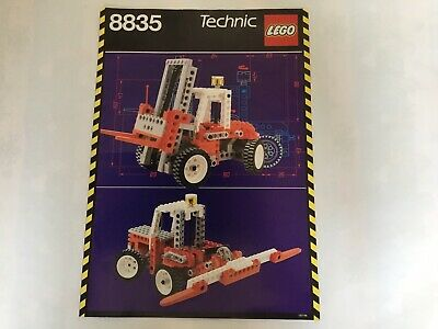 Lego Vintage Technic Instructions 8835 • 6£