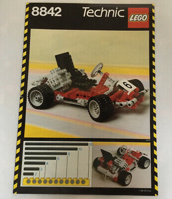 Lego 8842 Vintage Technic Instructions • 5£