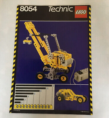 Lego 8054 Instructions Vintage Technic • 5£