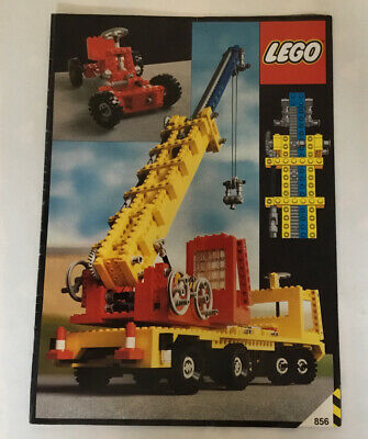 Lego 856 Instructions Vintage Technic • 6£
