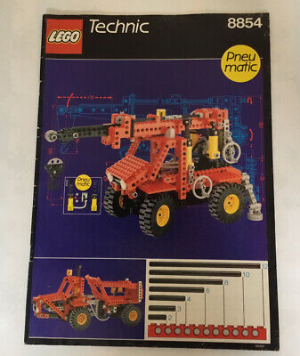 Lego 8854 Vintage Technic Instructions • 6£