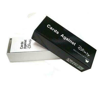 BLACK Cards Against Disney Your Childhood Table 828 Card Games Adult Party Game  • 28.99£