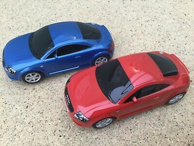 Scalextric  1:32  Cars   Red And Blue Audi TT • 26.95£
