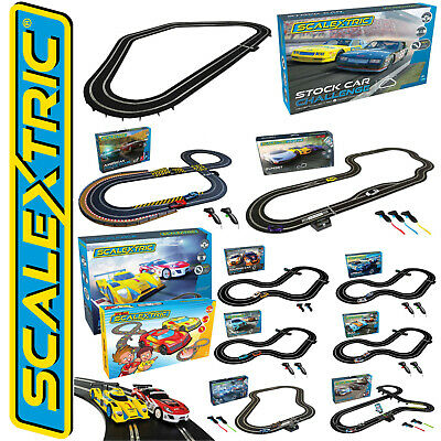 Scalextric Slot Car Racing Track Complete Full Sets • 113.99£
