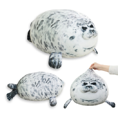 Latest Chubby Spotted Sea Animal Seal Cute Plush Pillow Doll Toy Kids Gift UK.** • 28.99£