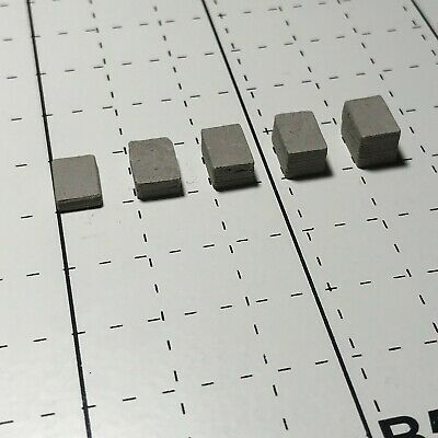 1/35 Wargaming Building GREY Paving Cobblestones 5 Different Heights Choose &Buy • 10.50£