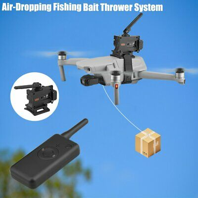 New For DJI Drone Air Thrower Ring Fishing Bait Air-Dropping System • 25.06£